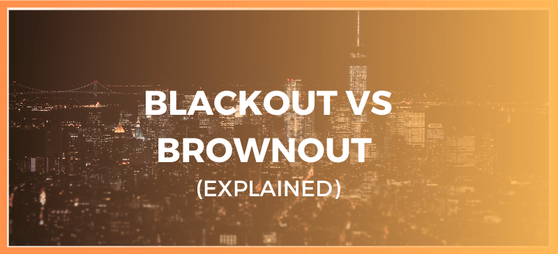 blackout vs brownout