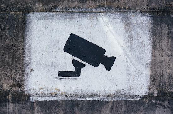 A graffiti image representing the best solar security camera