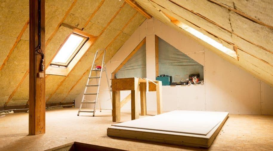 """An Attic That Needs """"Hot Attic Solutions"""""""