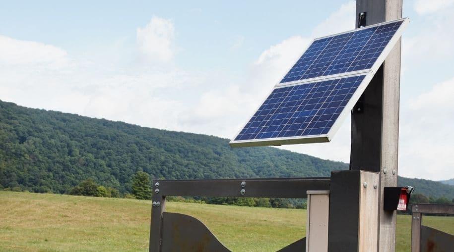 BFP_SolarGateOpenerInstallation