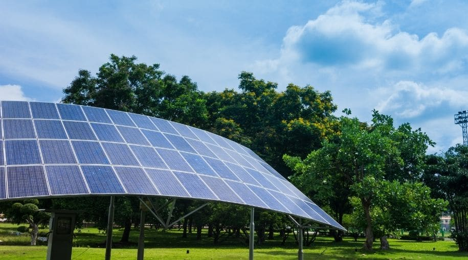 """An impressive solar system that helps answer the question """"Why Are Solar Panels Important?"""""""