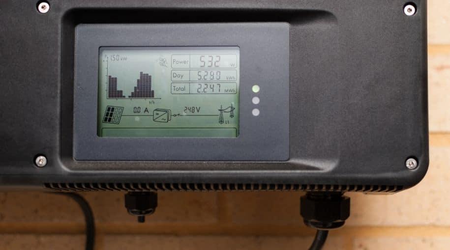 Solar Grid-Tied Inverter (User Interface)