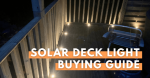 solar deck light buying guide